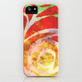 Sum' Rose iPhone Case