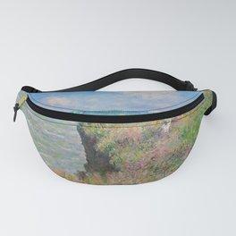 """Claude Monet """" Cliff Walk at Pourville"""" Fanny Pack"""