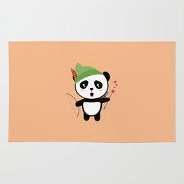 Panda valentine Archer T-Shirt for all Ages Dozgw Rug