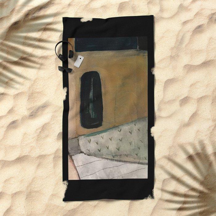the doorway in Beach Towel