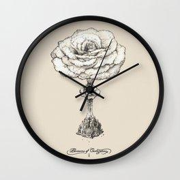 Blossoms of Civilizations Wall Clock