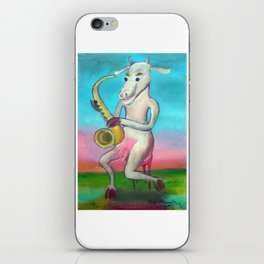 Vaca borracha por Diego Manuel iPhone Skin