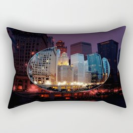 Chicago is MY kind of Town. . .  Rectangular Pillow