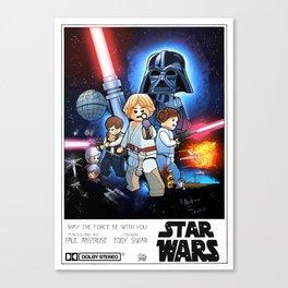 A new Lego hope Canvas Print