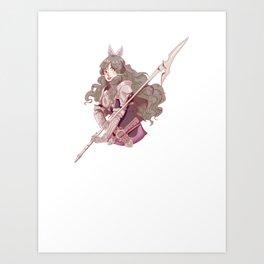 It's Sumia, Bish Art Print