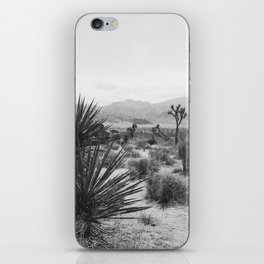 The Place to be in Joshua Tree iPhone Skin