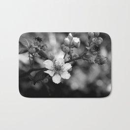 Blackberry Flower Bath Mat