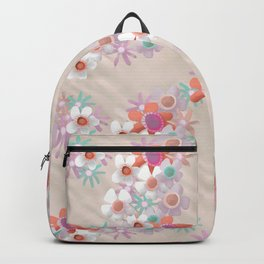Rumpled Blossoms Backpack