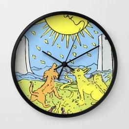 18 - The Moon Wall Clock