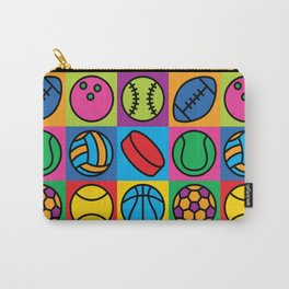Sport Ball Pop Art Carry-All Pouch