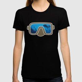 Snorkeling Mask Ocean Deep Underwater Marine Diver T-shirt
