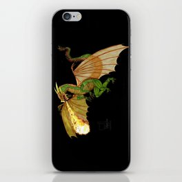 dragon_green   iPhone Skin