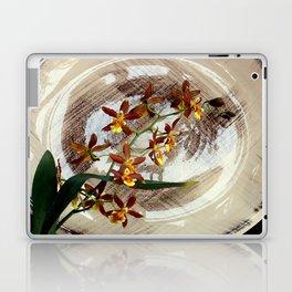 A Brushstroke Of Orchid Genus Laptop & iPad Skin