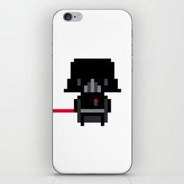 Pixel Darth Vader iPhone Skin