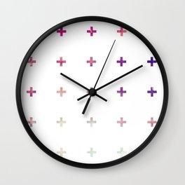 Crosses 03 w Wall Clock