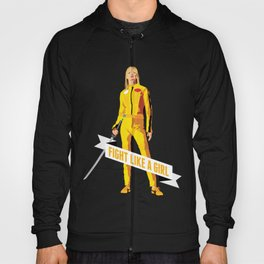 Fight Like a Girl: Beatrix Kiddo Hoody