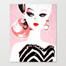 Classic Barbie Canvas Print