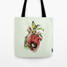 Heart Of Birds Tote Bag