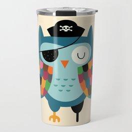 Captain Whooo Travel Mug