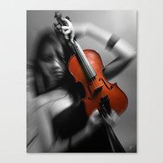 Her Ghost Canvas Print