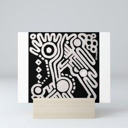 Frieze, Acrylic on Canvas Mini Art Print