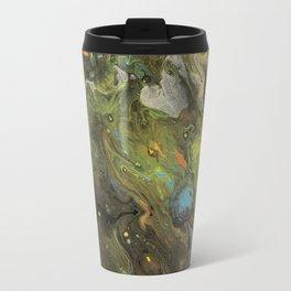 Acrylic Paint Pour (Dirty Pour) 1 Travel Mug