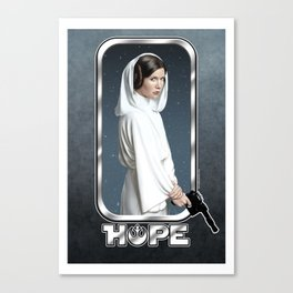 Leia's Hope Canvas Print