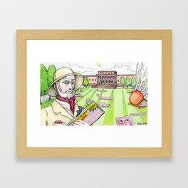 Colonel Mustard, Nelson-Atkins Museum of Art, Bacon Framed Art Print