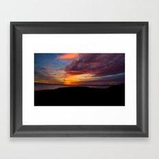 Master Of Sunset Framed Art Print
