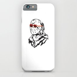 Jason Only Has Eyes for You iPhone Case