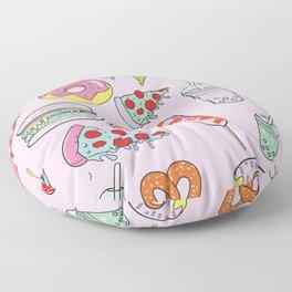 Pastel Junk Food Floor Pillow