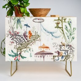 Enchanted Forest Chinoiserie Credenza
