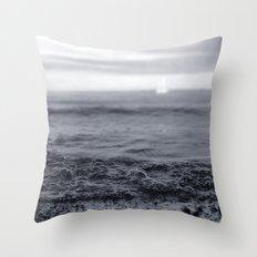Beach Blues Throw Pillow