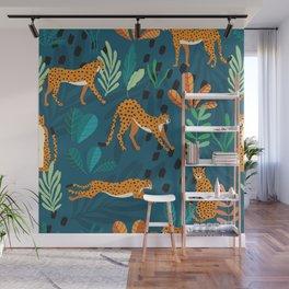 Cheetah pattern 001 Wall Mural