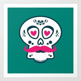 Calaca Chula Art Print