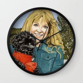Sherry & Du Wall Clock