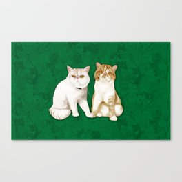 Teagues and Oliver Canvas Print