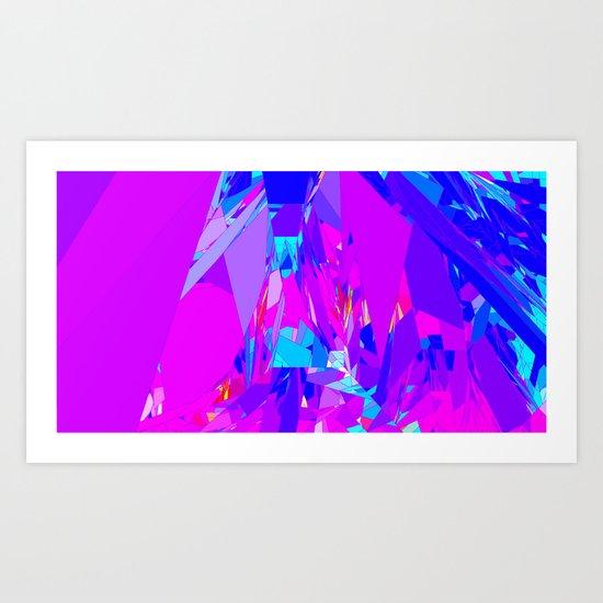 Crystal # 2 Art Print