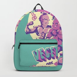 Vegetables are Delicious Backpack