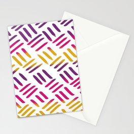 Sunset Stitch Stationery Cards