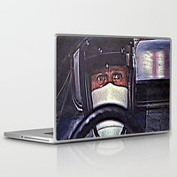 taxi driver Laptop & iPad Skins featuring Driver by LeicaCologne Germany