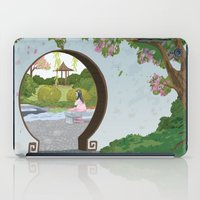 mulan iPad Cases featuring Mulan by Lesley Vamos