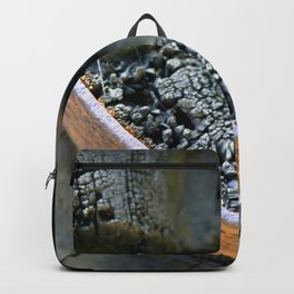 Wooden Wheel Backpack