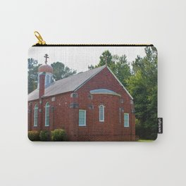 Gold Onion Dome Church Carry-All Pouch