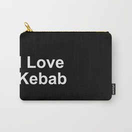 I Love Kebab Carry-All Pouch