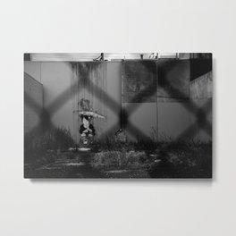 RainGirl Metal Print