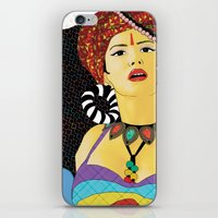 swag iPhone & iPod Skins featuring Tribal Swag by LIGHTNING9