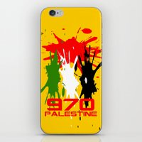 palestine iPhone & iPod Skins featuring Palestine Code by Maxvtis