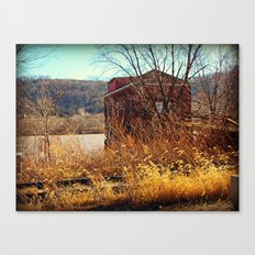 Hidden Away, Hoping To Be Found Canvas Print
