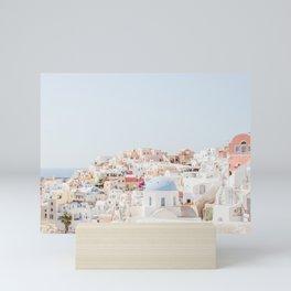 Santorini Vista Mini Art Print